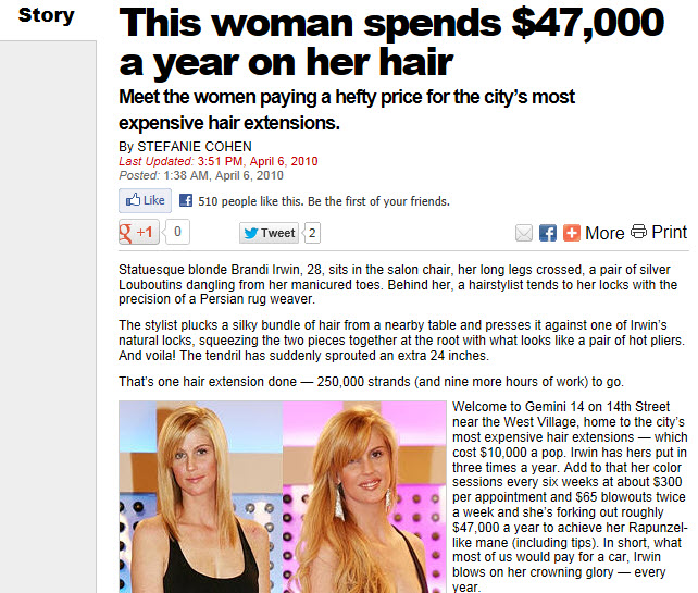 Nyc Meet The Women Paying A Hefty Price For The Citys Most